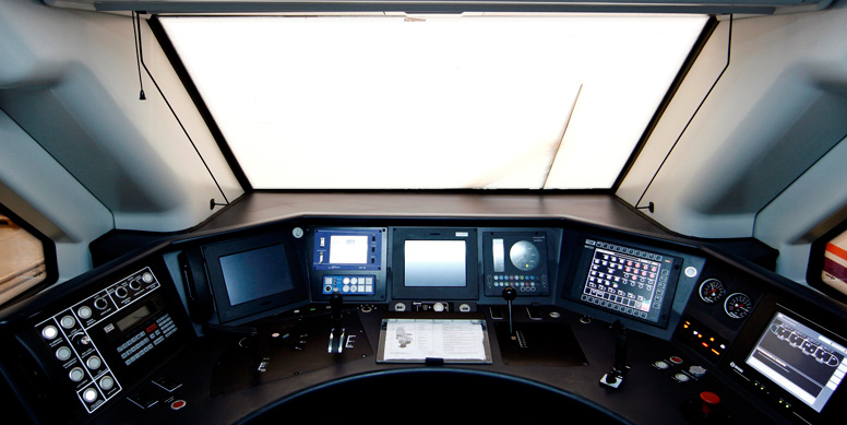 Control Of Trains And Communications Caf