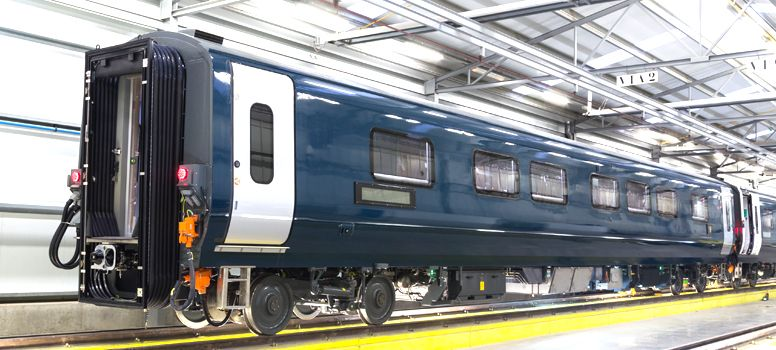 Caledonian Sleeper Passenger Coaches